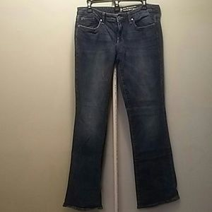Gap Sexy boot cut jeans size 8